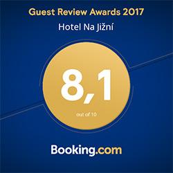 hodnocení booking.com 8,1